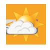 Overwegend zonnig